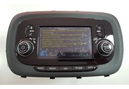 Car Radio with GPS Navigation FIAT 07356524670
